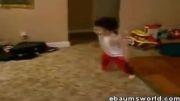 baby break dancer
