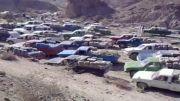گازویل کشی جوانان بلوچ با تویوتا  در مرز ایران و پاکستان