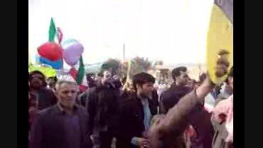 خَوَر فروی: راهپیمایی روز 22 بهمن ماه، فرخی
