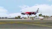 فرود در فرودگاه بین المللی دبی
