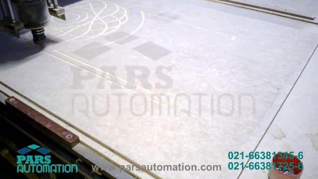 CNC درب چوبی-دستگاه سی ان سی- حکاکی و برش- کنترلر Adtec