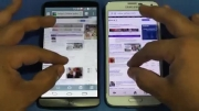 Samsung GS5 .VS LG G3 _Browsing Speed Comparison