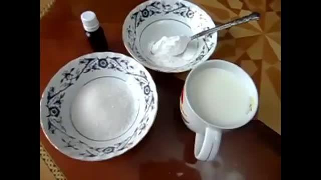 کرم سفید(برای انواع دسر)
