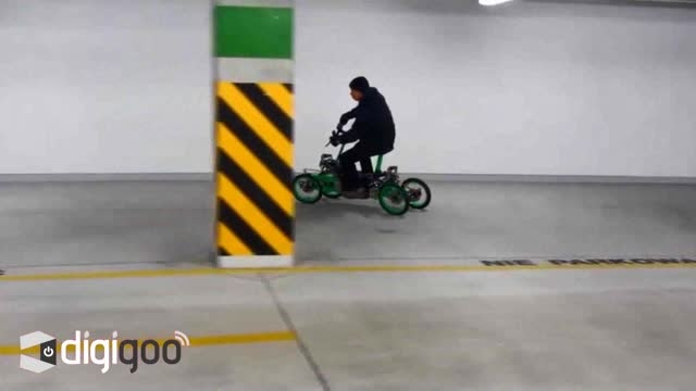 نمایش جدیدترین اسکوتر برقی 4 چرخ EV4