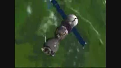 بازگشت فضاپیمای سایوز به زمین