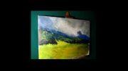 اموزش نقاشی رنگ و روغن منظره4