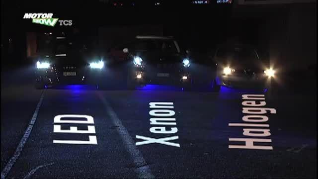 مقایسه چراغ خودرو -هالوژن-زنون-led