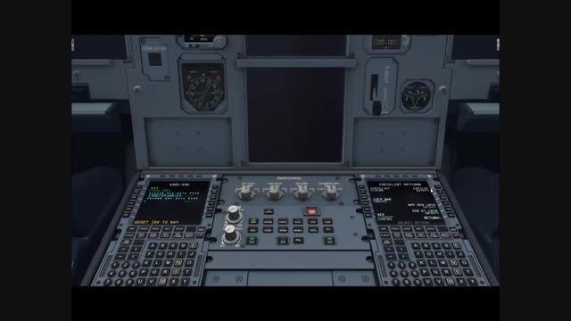 آموزش کامل پرواز با ایرباس 320 شبیه ساز پرواز قسمت 1