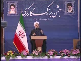 دکتر روحانی:دلالان تحریم به فکر شغل دیگری باشند.