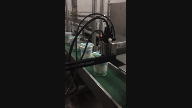 جت پرینتر شرکت دیاکو آسیا در خط تولید محصولات لبنی