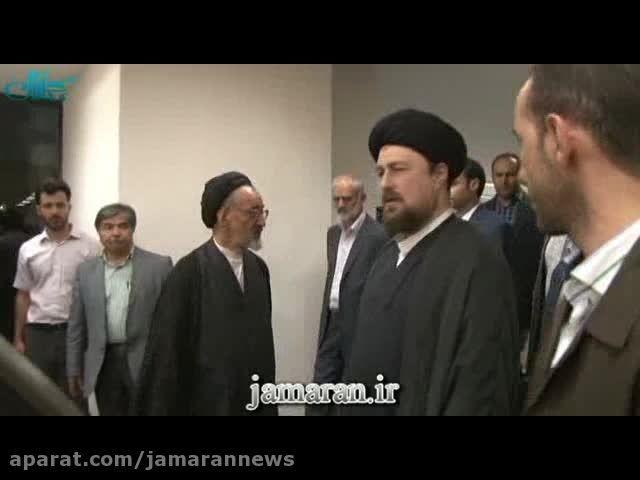 بازدید یادگار امام از موسسه اطلاعات