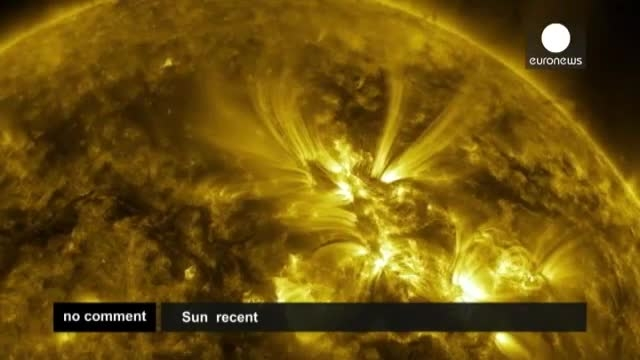 تصاویر شگفت انگیز ناسا از سطح خورشید