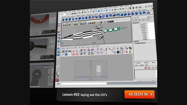 Asset Pipeline in Maya and Mudbox