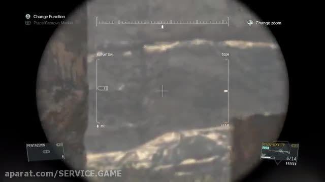 سرویس گیم: ویدئو : آموزش بدست آوردن Sniper Wolf Costume