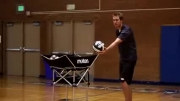 ویدئو آموزش نحوه زدن ضربه صحیح به توپ در هنگام سرویس !