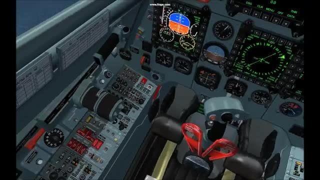 لذت پرواز با جنگنده SU-30 در شبیه ساز پرواز