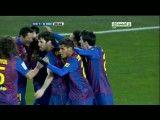 گل اول بارسا به سوسیداد به وسیله ی کریستین تیو بازیکن جوان بارسا
