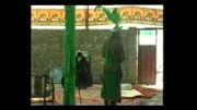 تعزیه حضرت عباس حاج محسن گیوه کش قسمت سر بالین زینب شینقر9