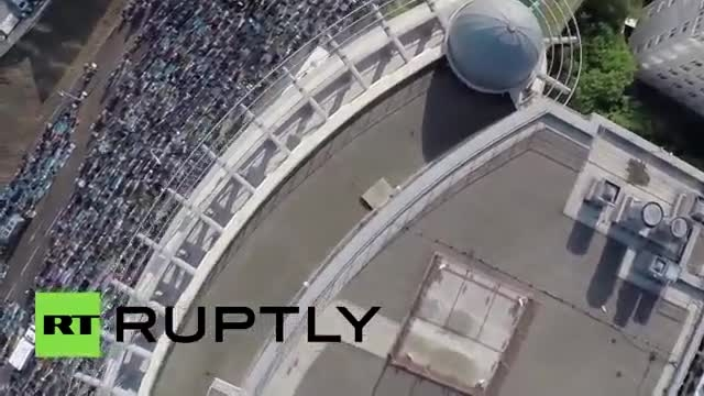 مراسم نماز عید فطر در مسکو 1394 Eid al-Fitr Moscow