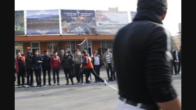 مسابقات دو امدادی اولین المپیاد ورزشی سلام تجریش