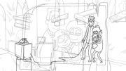 انیمیشن Raised By Zombies قسمت چهارم - خانواده