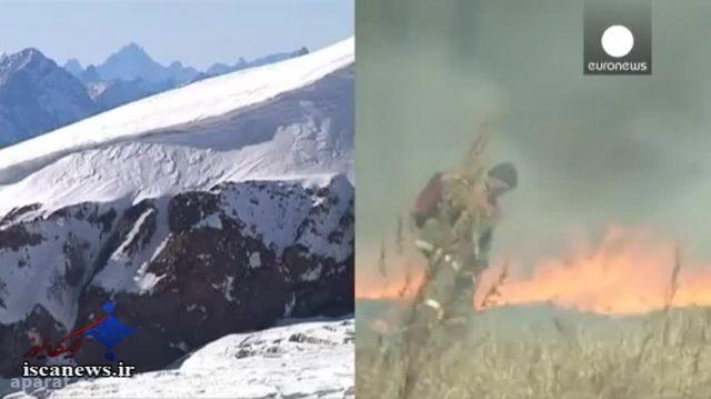 تصویر جدید ناسا و پدیده النینو؛ 'زمین در آتش'
