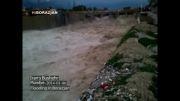 بوشهر - جاری شدن سیل در برازجان