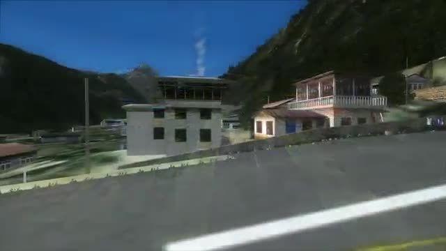 خطر ناک ترین فرودگاه دنیا در دل کوه های هیمالیا