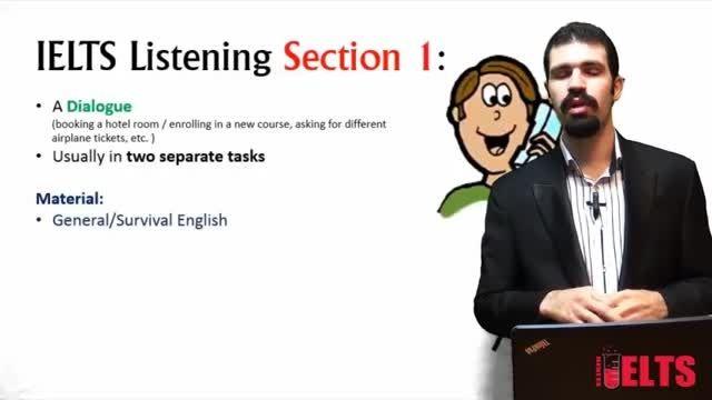 آموزش آیلتس: بخش های مهارت Listening آیلتس