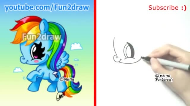 paint rainbow dash