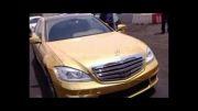اولین مرسدس بنز طلایی در ایران!...