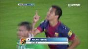 بارسلونا VS رئال بتیس  | 1 - 1 | گل سانچز