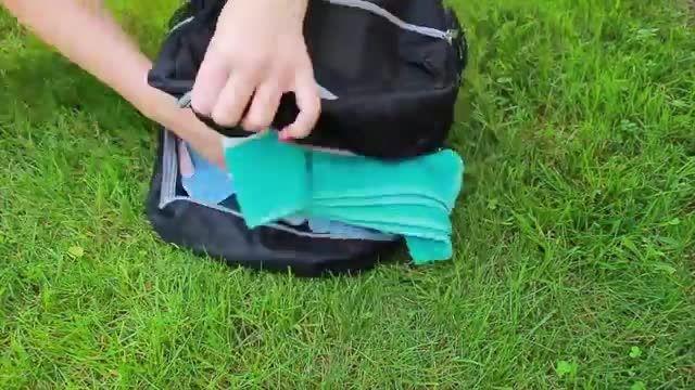 وسایل مدرسه + تزیین کردن کیف کهکشانی