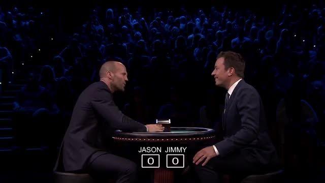 Jimmy Fallon - Slapjack with Jason Statham
