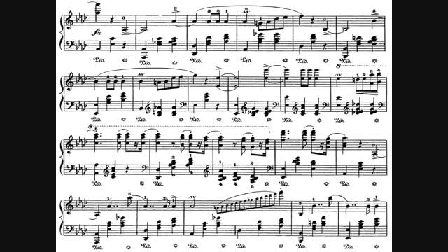 F.Chopin - Waltz in A-flat Op 34 no 1