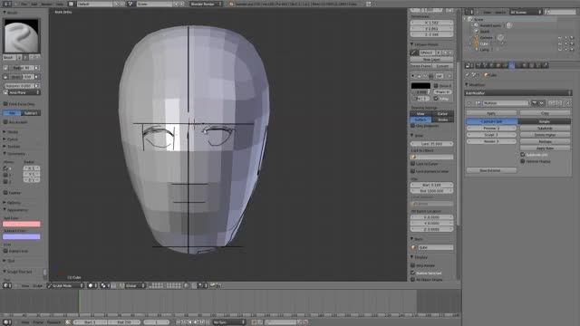 ۱۷ − سری آموزشی مدلینگ در Blender از CGCookie