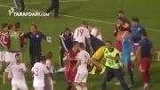 درگیری های بازی ناتمام صربستان و آلبانی