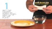 ایجاد خلا در بطری شیشه ای