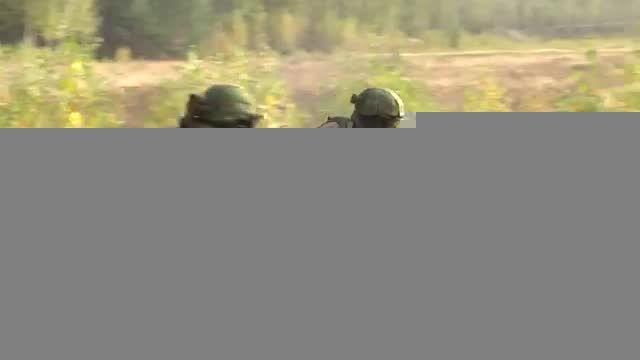 تمرین نظامی نیروهای ویژه ی روسیه