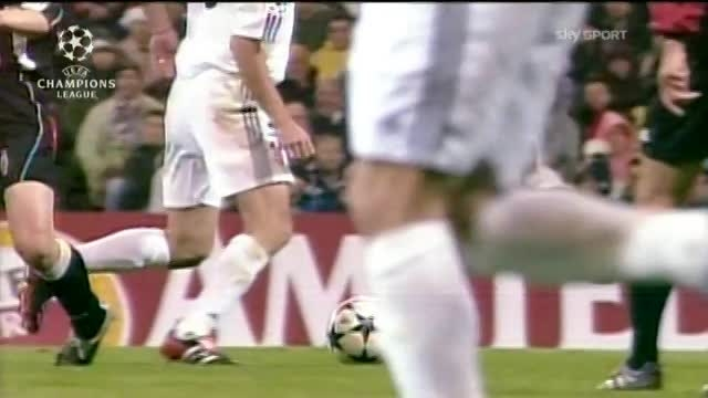 خاطره ها - رئال مادرید 2 : 1 یوونتوس - سال 2002/03
