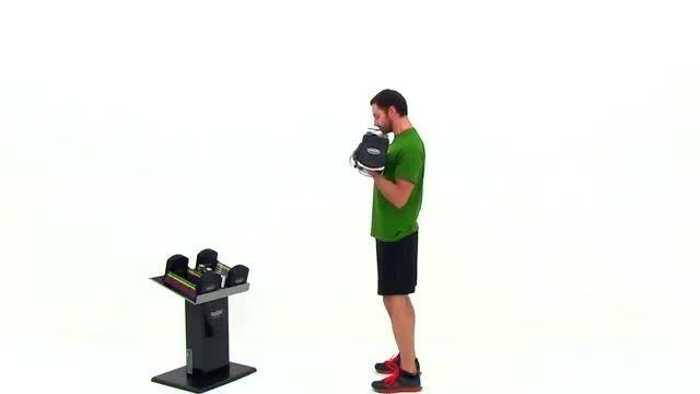 تمرینات ساده برای شانه و بازو در خانه با دمبل