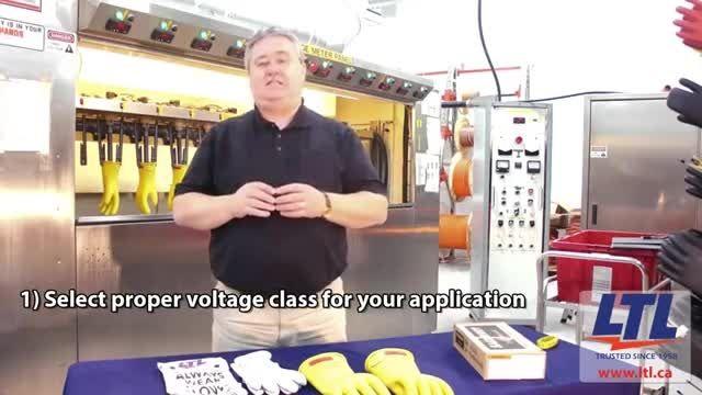 نحوه انتخاب سایز و کلاس مناسب برای دستکش های عایق برق