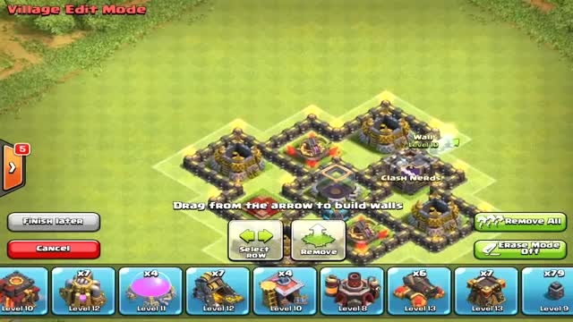 base town hall **9** clash of clans farming