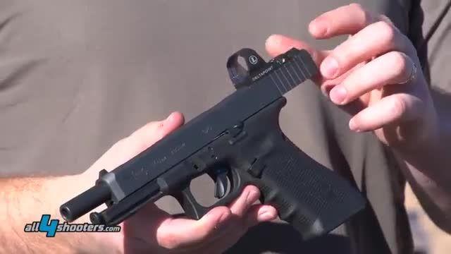 اسلحه کمری گلاک Glock 40 Gen.4 MOS 10mm Auto pistol