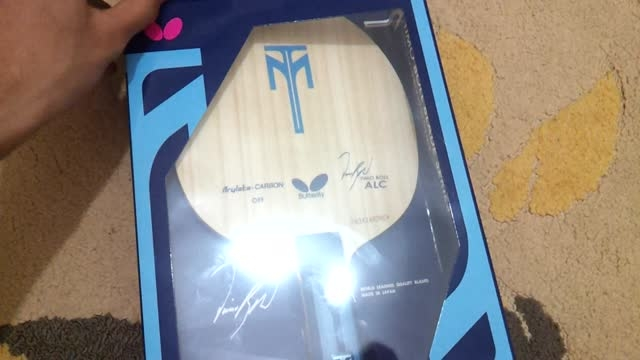 Unboxing ALC Timo Boll
