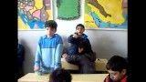 تدریس درس علوم توسط دانش آموز پایه ی چهارم دبستان پسرانه مفتاح دانش