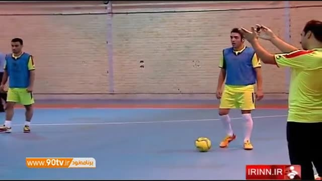 حواشی تمرین تیم ملی فوتسال با سرمربی جدید