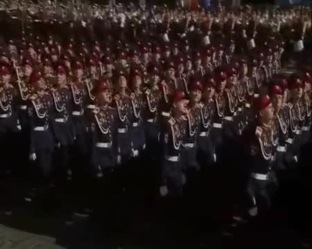 رژه ارتش سرخ روسیه در سال 2015