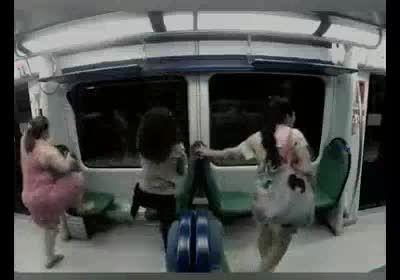 وحشت در مترو
