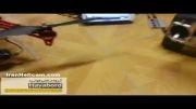 ربات پرنده کوادروتور F450 تصویربرداری هوایی با گوپرو